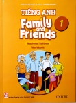 Family And Friends 1 Nation Edition - Workbook